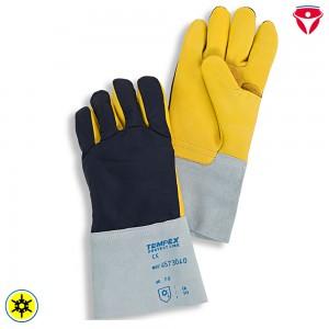 Tempex Kommissionierer Handschuhe | Nylon + Leder