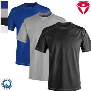 Kübler 5407 T-Shirt mit Kontraststeppung