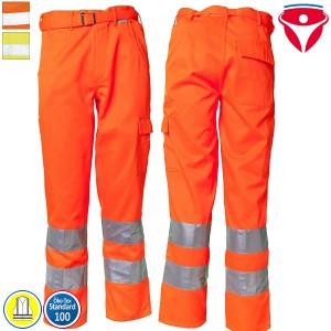 Planam Warnschutz Hose | einfarbig
