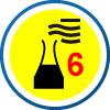 EN 13034 Typ 6 - Die Norm legt die Mindestanforderungen an Chemikalienschutzanzüge zum begrenzten Einsatz (Typ 6) fest. Sie bietet dort eingeschränkten Schutz gegen die Einwirkung von flüssigen Aerosolen, Spray und leichten Spritzern von Chemikalien. Spezielle Chemikalien müssen vorab getestet werden