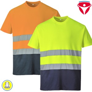 Warnschutz T-Shirt Baumwoll-Komfort S173
