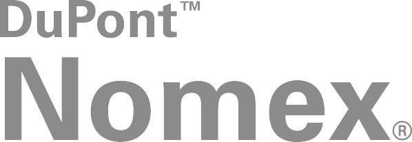 Nomex by DuPont: Nomex® ist eine inhärent flammfeste Faser, die eine hohe Temperaturbeständigkeit besitzt und nicht schmilzt, abtropft oder die Verbrennung in Luft unterstützt. Sie ist verfügbar als Papiere, Filze, Gewebe und Fasern. Nomex® Markenfasern kommen zwar für eine Vielzahl verschiedener Anwendungen zum Einsatz. Am bekanntesten sind sie sicherlich als wichtiger Bestandteil von Schutzkleidung. Heutzutage schützen sich weltweit über drei Millionen Feuerwehrleute mit Einsatzkleidung, Dienstkleidung und Zubehör aus Nomex®.