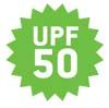 UV Schutz 50+ | Der UV-Schutzfaktor (UPF) gibt an, wieviel länger der Nutzer von Sonnenschutztextilien oder der Träger von UV-Schutzkleidung sich in der Sonne aufhalten kann, ohne Hautschäden davonzutragen. Er ist vergleichbar mit dem Sonnen bzw. Lichtschutzfaktor von Sonnencremes (SPF). Berechnungsgrundlage ist bei beiden Angaben die so genannte Eigenschutzzeit der Haut, die allerdings je nach individuellem Hauttyp stark variiert. Der UV Schutz 50+ ist sehr hoch.