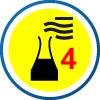 EN 14605 | Chemikalienschutz Typ 4 | sprühdicht - Schutzkleidung gegen flüssige Chemikalien, Expositionen gegenüber nicht unter Druck stehenden Flüssigkeitsspritzern
