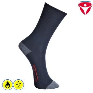Flammhemmende antistatische Socken ModaFlame SK20