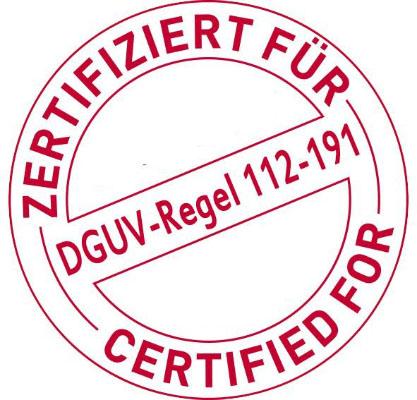 Sicherheitsschuhe / Arbeitsschuhe sind gemäß EN 20345:2004 zertifiziert, wobei beim Verkauf die Standard Einlegesohle enthalten ist. Nur Standard Einlegesohlen des jeweiligen Herstellers sind für die Verwendung in Schuhen zugelassen. Wenn die Schuhe über eine zusätzliche Zertifizierung gemäß DGUV 112 191 verfügt, können orthopädische Einlegesohlen zertifizierter Hersteller verwendet werden. Wenn der Schuh gemäß IEC 61340-5-1 (ESD-gerecht) zertifiziert ist, können diese Eigenschaften nicht garantiert werden, wenn die Einlegesohle durch die Einlegesohle eines anderen Herstellers ersetzt wird.