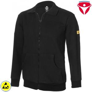 ESD Sweat Jacke mit Taschen