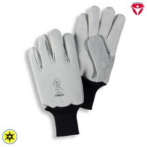 Tempex Kommissionierer Handschuhe | Rindvollleder