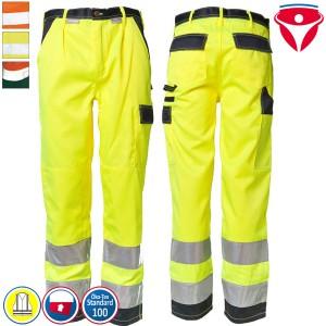 Planam Warnschutz Hose | 2-farbig