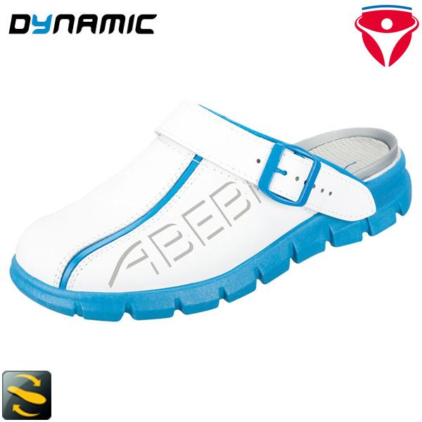Abeba Dynamic 7325 Schuhe 37325 Esd Berufsschuh Clog Küchenschuh Arbeitsschuh Weiß