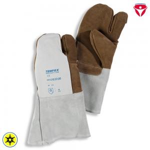 Tempex 3-Finger Staplerfahrer Handschuhe | Nappaleder