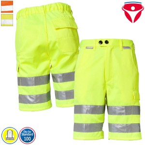 Planam Warnschutz Shorts | einfarbig