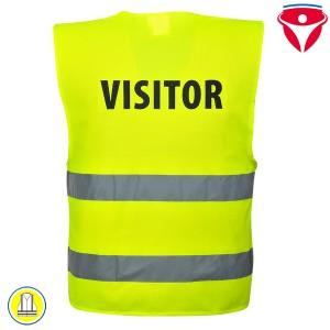 Besucher Warnschutz Weste C405