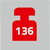 136 kg | Absturzsicherung zugelassen bis 136 kg