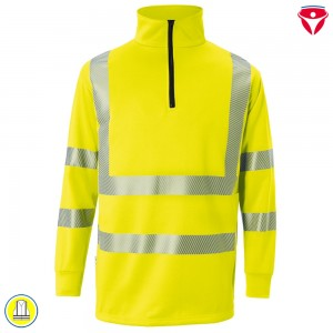 Kübler 5046 Reflectiq Zip Sweat-Shirt