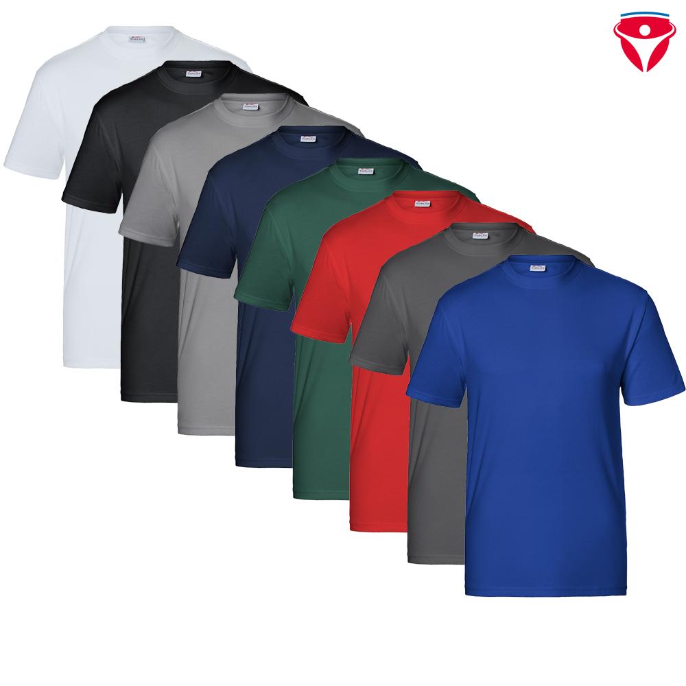 Kübler Arbeitsshirt T-Shirt 5124 6238 65 moosgrün