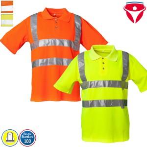 Planam Warnschutz Polo-Shirt uni