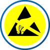 Schutz gegen elektrostatische Entladung (ESD) - zusätzlicher Antistatikschutz in der Sohle, der überall da benötigt wird, wo ganz besonders hohe Anforderungen an die Antistatik gestellt werden, wie zum Beispiel bei der Herstellung von elektronischer Ausrüstung, etc. Diese Teile können durch elektrische Entladung zerstört werden. Der Widerstand liegt unter 35 Ohm und erfült damit edie Anforderungen der IEC 61340-5-1.