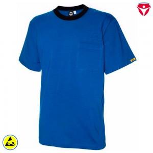 ESD T-Shirt hochleitfähig