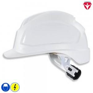 Uvex Elektriker Schutzhelm für Visiere Störlichtbogen Klasse 2
