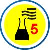 EN  ISO 13982 | Chemikalienschutz Typ 5 | feste Partikel - Schutz gegen feste, fliegende Partikel