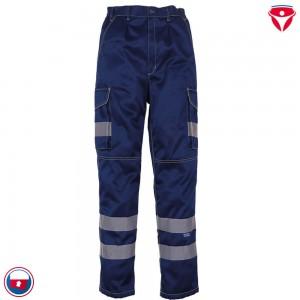 Warnschutz Cargo Hose mit Kniepolstertaschen