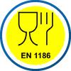 EN 1186 | Schutzkleidung ist geeignet für den Kontakt mit fettigen Lebensmitteln
