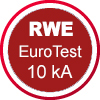RWE EuroTest | Schutz vor Störlichtbogen bis 10 kA / 1 sek