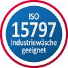 Industriewäsche geeignet nach EN ISO 15797 - genormtes Testverfahren für die Waschbeständigkeit von Berufsbekleidung