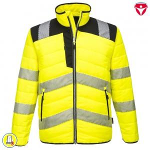 Warnschutz Kapuzen Sweatjacke B305 | PortWest