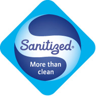Sanitized® behandelt (geruchs- und bakterienhemmend)