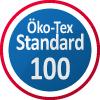 Öko-Tex® bedeutet Sicherheit für Bekleidung, die mit der Haut in Kontakt kommt und die Zertifizierung garantiert, dass das mit den Produkten verbundene, gesundheitsschädliche Risiko minimiert ist. Dies ist mit anderen Worten Ihre Sicherheit dafür, dass die Chemikalien und gesundheitsschädlichen Stoffe die dem Körper schaden können oder bei denen der Verdacht besteht, dass diese schadhaft sein könnten, nicht die maximal zugelassenen Werte überschreiten. Die Zertifizierung umfasst viele verschiedene Stoffqualitäten. Die Stoffqualitäten sind nach der Produktklasse II zertifiziert, die für Produkt