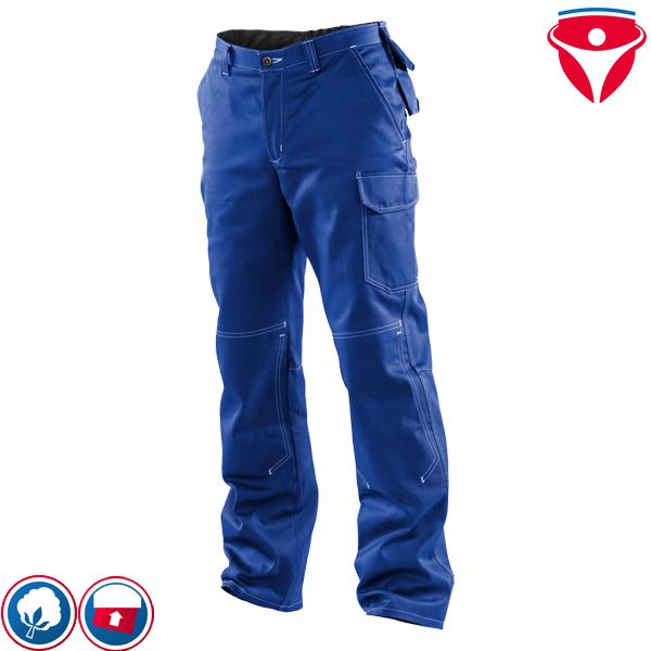 NEU Berufsbekleidung Arbeitshose Bundhose Gr.48 48 Blau Strapazierfähig Quality